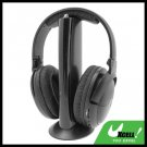 Wireless Stereo Headphone Headset with FM Radio for PC TV