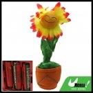 Lovely Gift Singing Dancing Plush Animated Smiley Sunflower Toy
