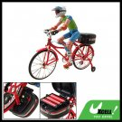 Red Electric Music Miniature Bicycle Motion Bike Toy