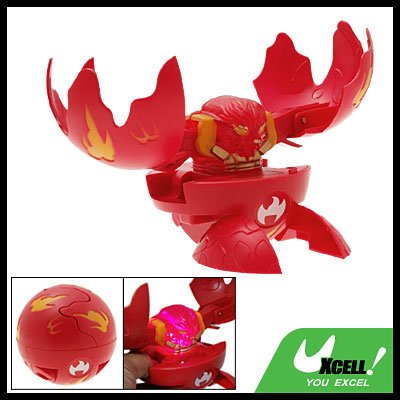 Red Magnetic Magic Game Toy Ball - Transform to Animal Shape