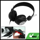 Multimedia Black PC Computer Stereo Headphone Headset with Microphone (SK-731V)