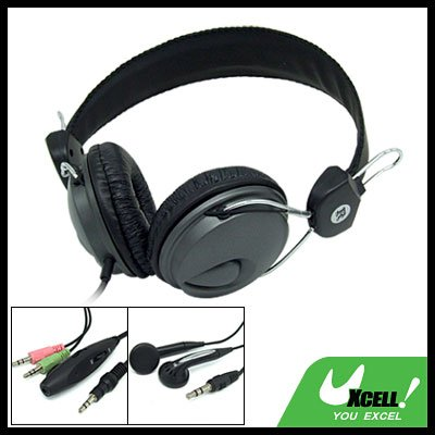 Multi-Purpose PC Computer Stereo Headphone with Microphone In-Ear Earphone