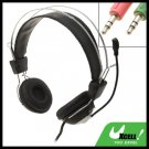 Headphone Microphone Headset Mic for Computer PC Skype MSN