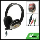 Multimedia Stereo PC Headphone Headset with Mic Microphone