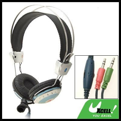 Headphone Headset with Built-in Microphone for Computer PC