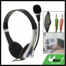 Stereo Computer PC Headphone Headset with Microphone