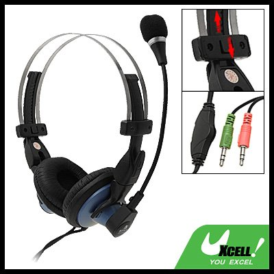 Dynamic Stereo PC Computer Headset Headphone with Mic