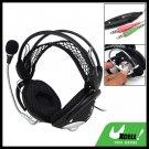 Stereo PC Computer Headphone Headset Mic Net Headband