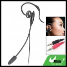 In-Ear PC Computer Earphone Headphone with Mic Ear-Hook