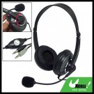Stereo Headphone Headset w/ Mic for PC Computer Laptop