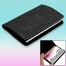 Black Surface Magnetic Business Card Case