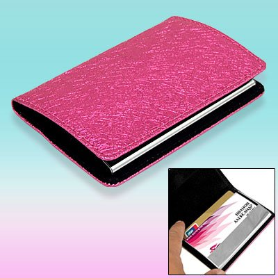 Leather Magnetic Case Holder for Business Credit Card