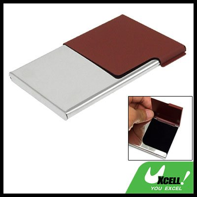 Business ID Card Metal Stainless Steel Holder Case