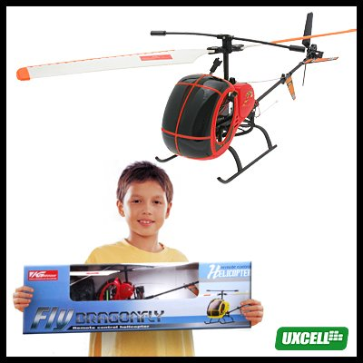 Toy - R/C Remote Control Helicopter Airplane-Red