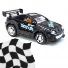 Toy - Radio Remote Control 1:52 Super Fast Racing Car - Black