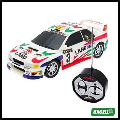 Toy Car - Mini Remote Control Mini Speed Racer Automobile - White