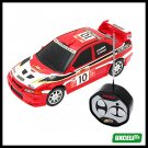 Toy Car - Mini Remote Control Mini Speed Racer Automobile - Red
