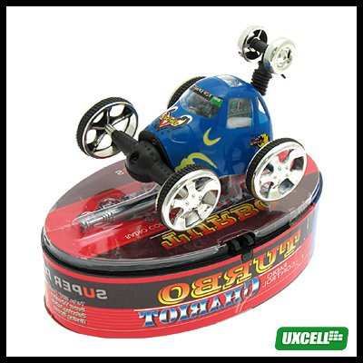 Toy - Super Remote Control Stunt Vehicle Car - Blue