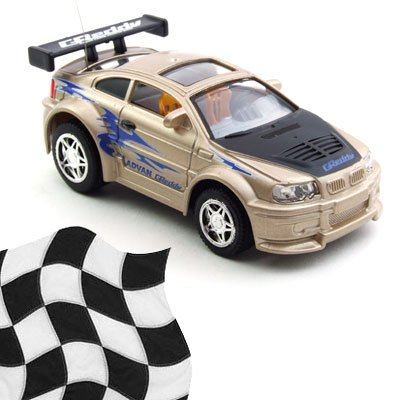 Toy - Radio Remote Control 1:52 Super Fast Racing Car - Champagne