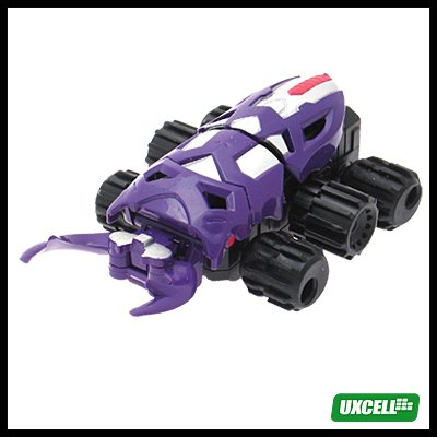 Toy Car - Super Hand Wind Crab Car w/ Motion - Purple