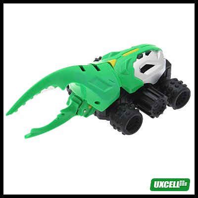 Toy Car - Super Hand Wind Shrimp Car w/ Motion - Green