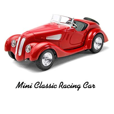 Toy Car - Mini Remote Control Speed Vintage Classical Racing Car Jeep (0607) - Red
