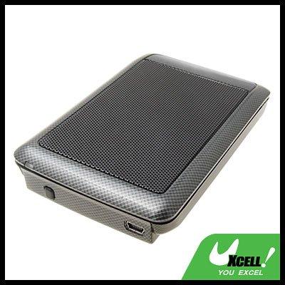 """Cool Black 2.5"""" USB SATA HDD Mobile Hard Disk Enclosure Case"""
