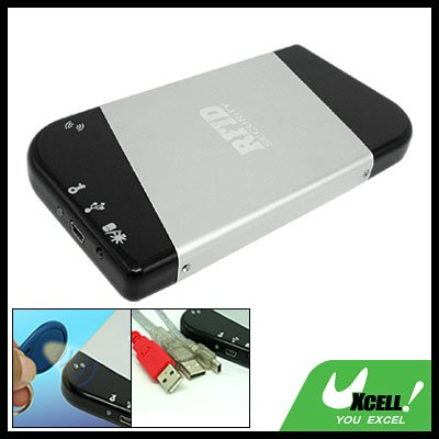 "2.5"" RFID Security SATA HDD External Hard Drive Enclosure Case"