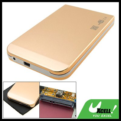 "Mobile 2.5"" SATA USB 2.0 HDD Hard Drive Enclosure Case"