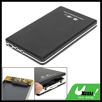 "2.5"" SATA HDD USB 2.0 Hard Drive Disk External Case Box"