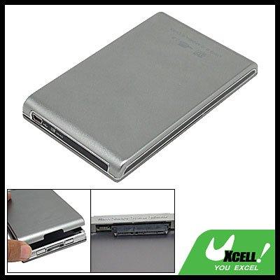 "2.5"" USB SATA HDD Hard Drive Disk Enclosure Case Silvery"