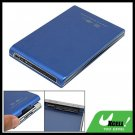 2.5 Inch USB External Hard Disk Drive Blue Case HDD SATA Enclosure