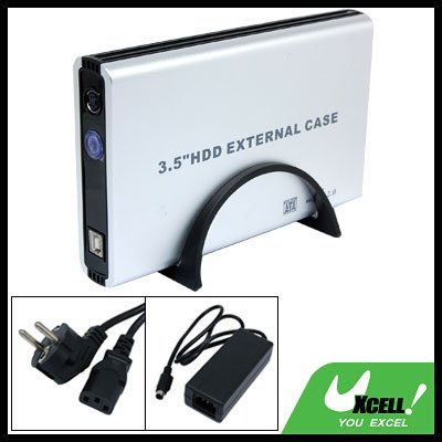 3.5 Inch USB SATA HDD External Case Enclosure