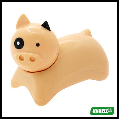 Novelty Desktop Pig Corded Telephone (SH - 067) - Yellow