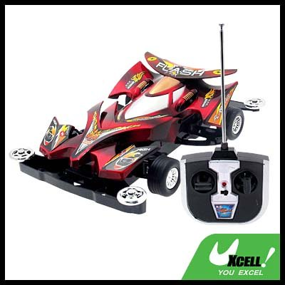 Toy Car - Radio Remote Control RC Racing Car- Red