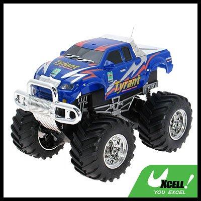 Toy - Remote Radio Control High Speed RC Racing Car-Purple Blue
