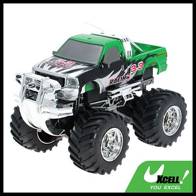 Toy - Remote Radio Control High Speed RC Racing Car- Green
