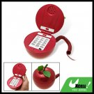 Fashion Red Apple RJ11 Wired Home Office Table Telephone
