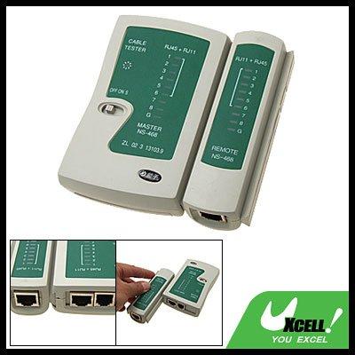 RJ45 RJ12 RJ11 LAN Cat 5 Network Telephone Cable Tester