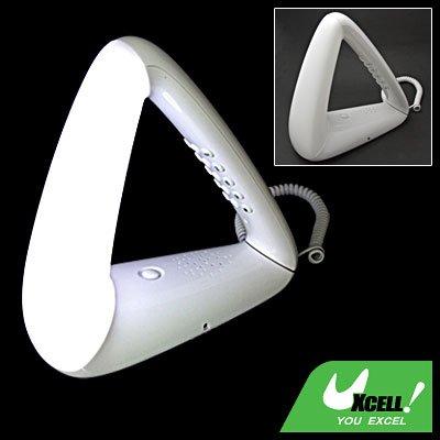 Triangle RJ11 Home Desk Bedroom Telephone w/Night Light