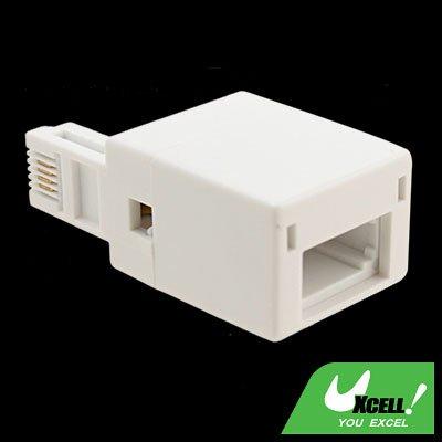 UK Telephone Socket to RJ11 Plug Adapter