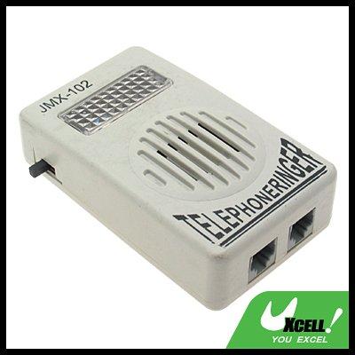 RJ11 Socket Loud Telephone Ring Speaker Ringtone Amplifier