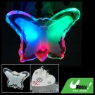 Butterfly Shaped Colorful LED Bedroom Night Light Lamp