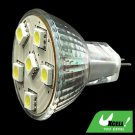 12V MR16 Spotlight Bulb White Light w/6 SMD 5050 LED