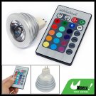 MR16 12V Remote Control 16 Color RGB LED Spotlight Bulb
