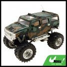 Toy - Camouflage Humvee Army High Speed 2 LED Radio Control Racing 4x4 Car Kids