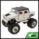 Toy - White High Speed 2 LED Radio Control RC Racing Car Kids