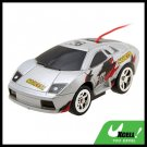 Toy Car Racing Mini Remote Control RC Speed Racer Silver