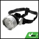 Safe 56 White LED Head Flashlight Headlamp with Head Strap