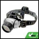 12 White LED Outdoor Head Flash Light Lamp with Strap